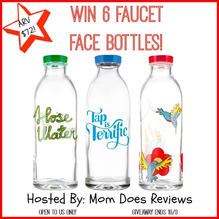 faucet face bottles