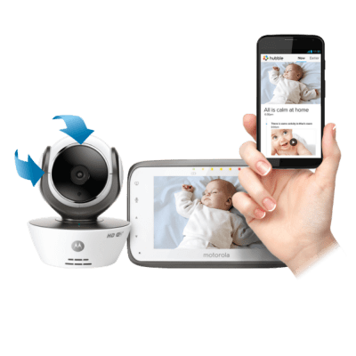 Baby Monitor from Motorola Helps you Rest Easier