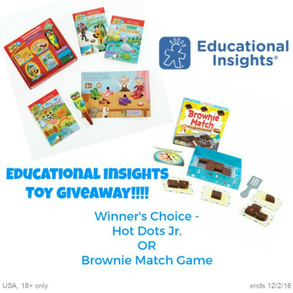 Educational Insights Game Giveaway