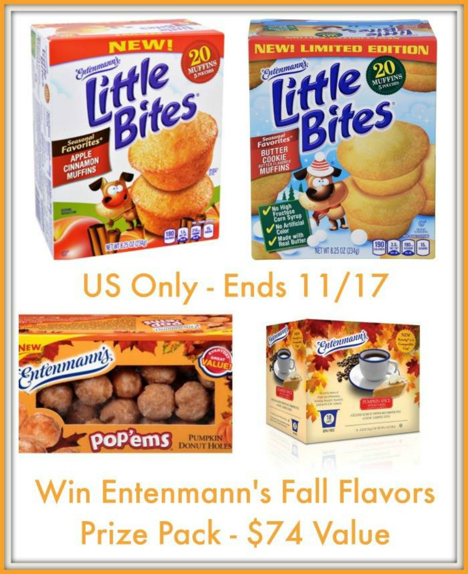Entenmann's Fall Harvest Prize Pack Giveaway