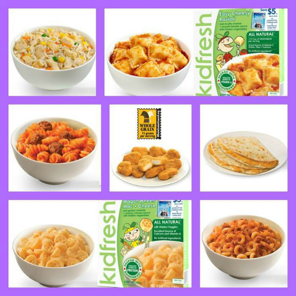 Kidfresh Meals Free Coupon Giveaway