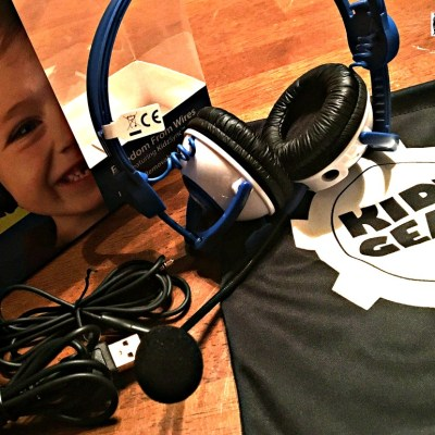 KIDZ GEAR Bluetooth Headphones