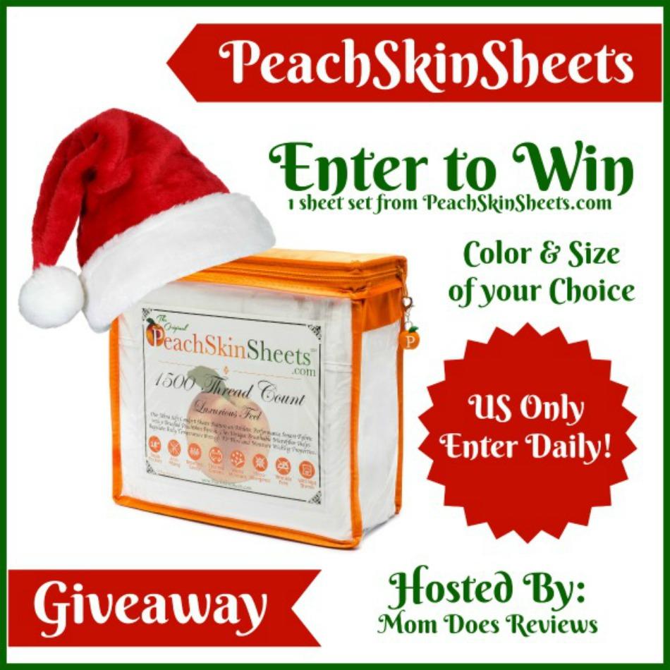 PeachSkinSheets Giveaway!