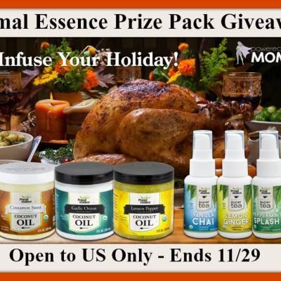 Primal Essence Infused Coconut Oils & Teas Giveaway
