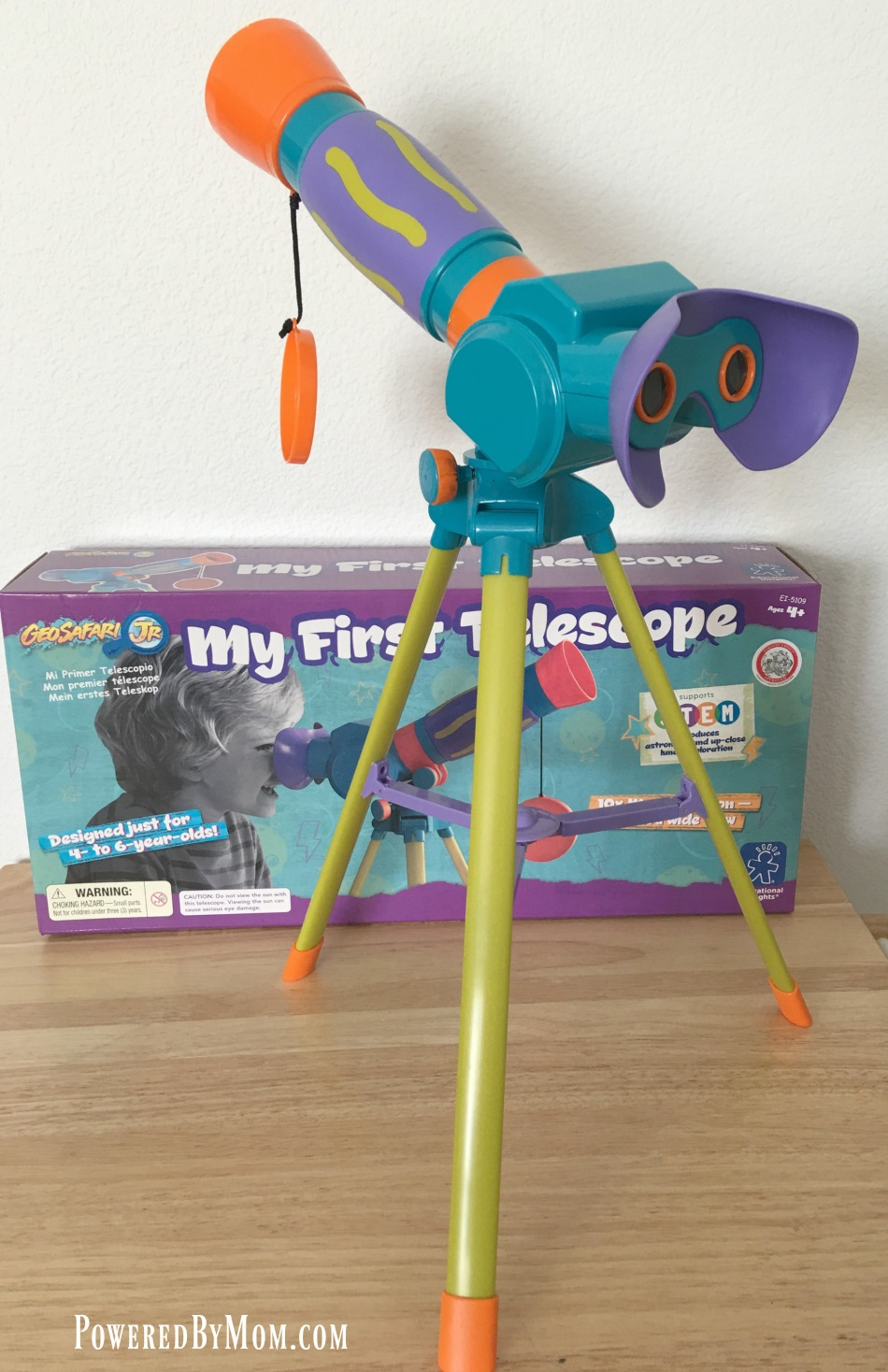 My First Telescope - Powered By Mom