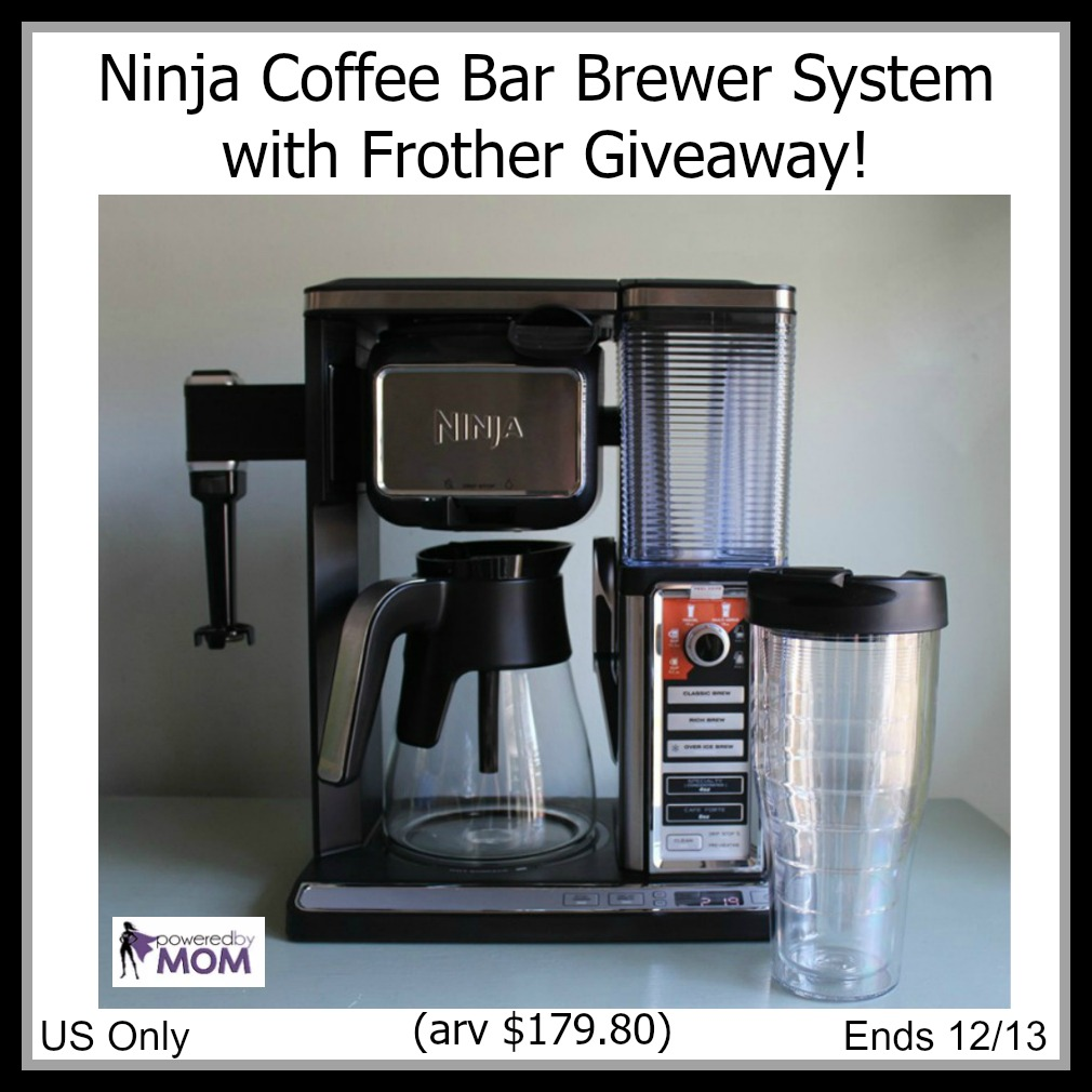 Ninja Coffee Bar Brewer System with Frother Giveaway