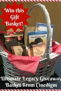 Ultimate Legacy Giveaway Basket Giveaway!