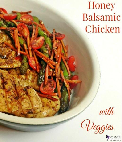 Honey Balsamic Chicken and Veggies banner 3