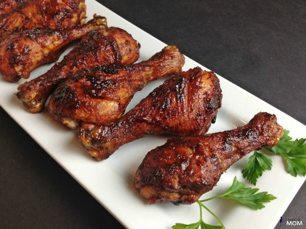 Spicy Honey Glazed Chicken Legs