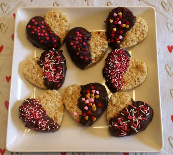 chocolate dipped rice krispies 3