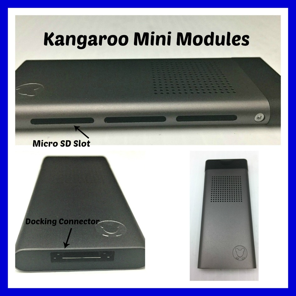 kangaroo mini module collage