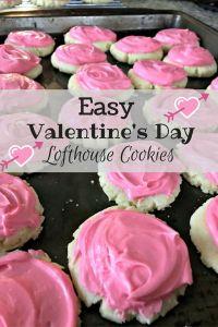 Easy Valentine's Day Lofthouse Cookies Recipe