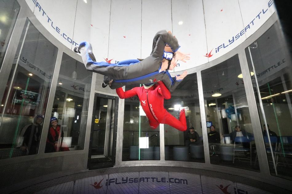 iFLY Seattle Indoor Skydiving Photo Album