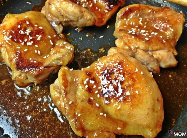 Honey Sriracha Chicken process 4