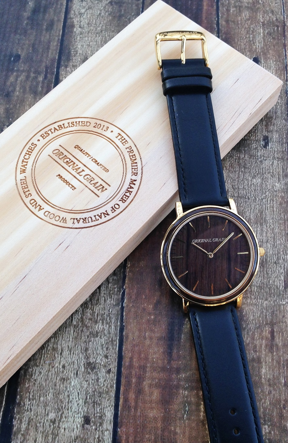 Original Grain Minimalist Watch