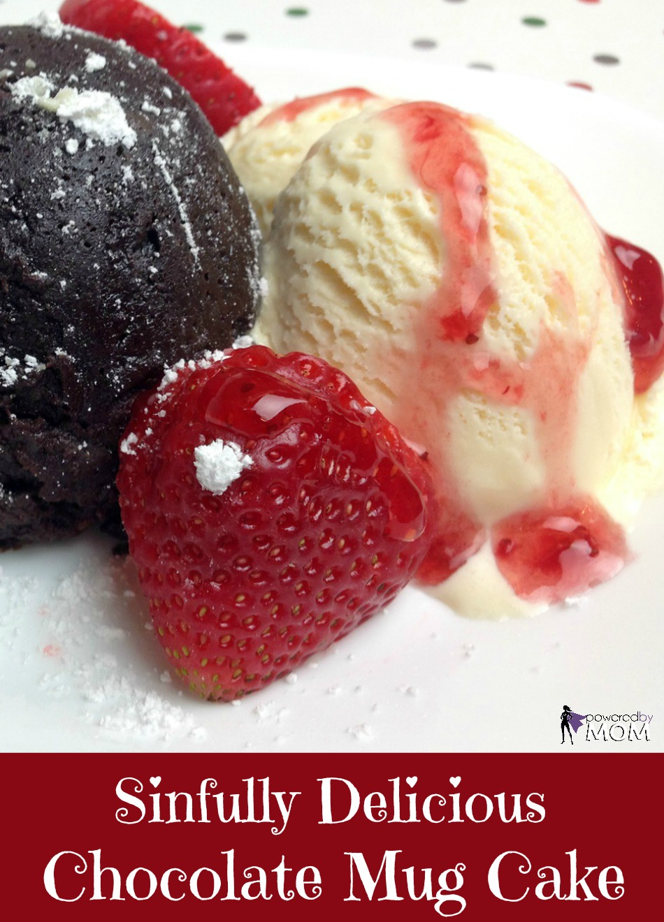 Sinfully Delicious Gluten Free Chocolate Mug Cake banner 2b