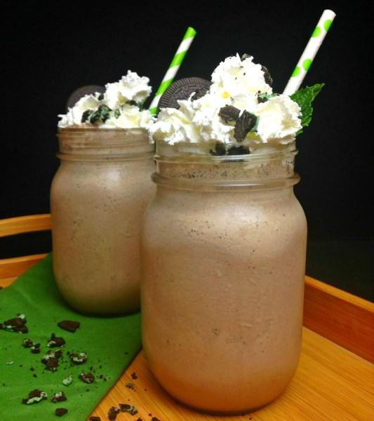 Cookies 'N Cream Mint Chocolate Milkshake vertical 3