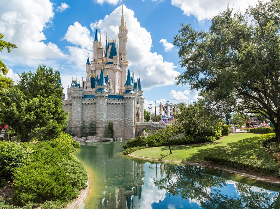 Disney World - Magic Kingdom Castle