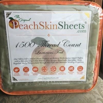 Velvety Soft Sheets from PeachSkinSheets