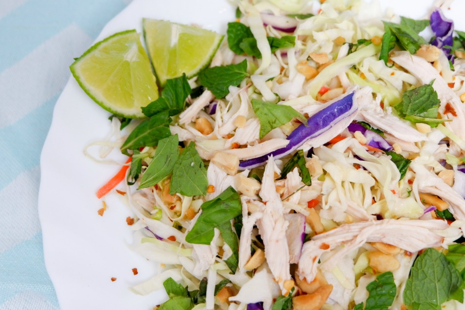 vietnamese chicken salad feture