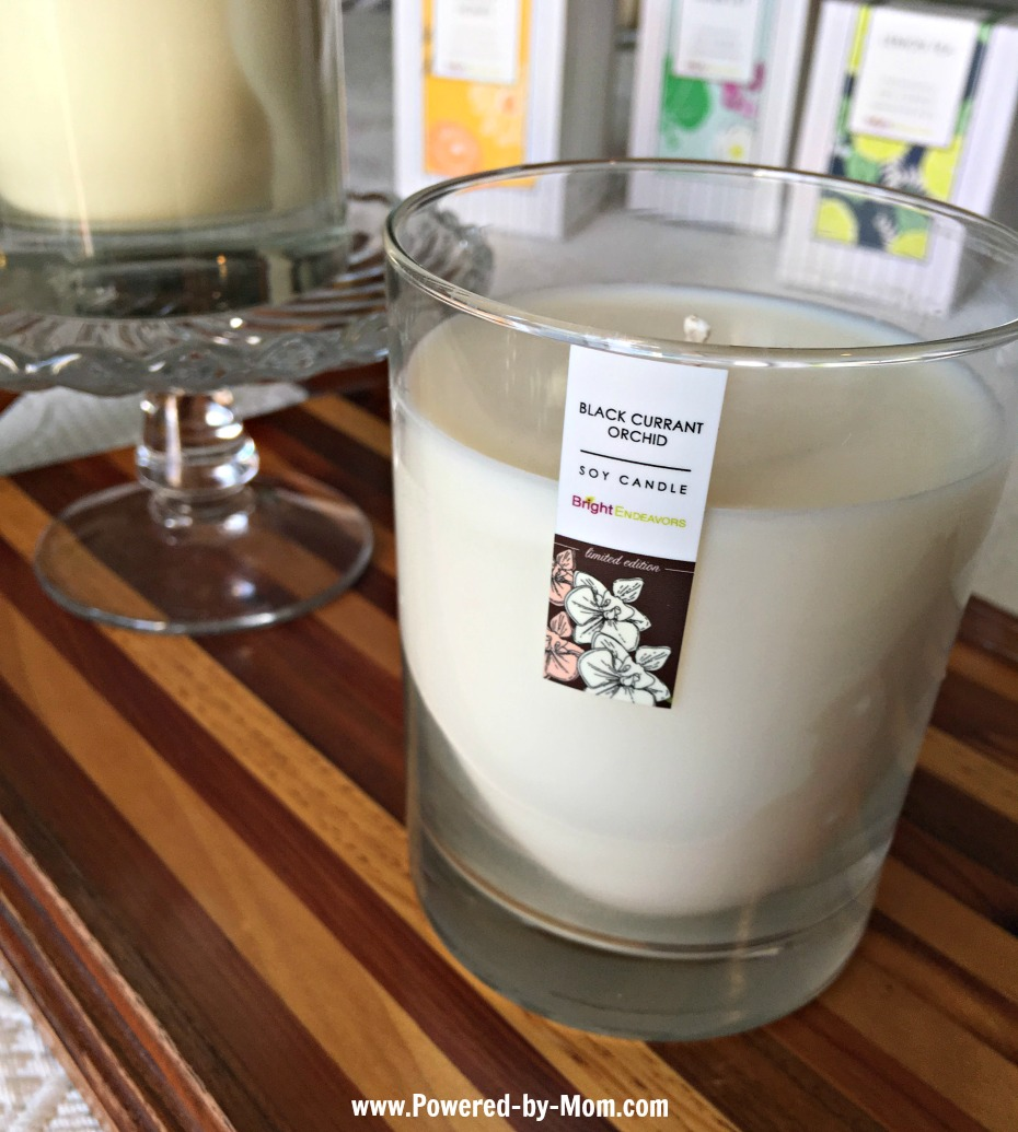 Bright Endeavors Soy Candles Black Currant Orchid - Powered by Mom