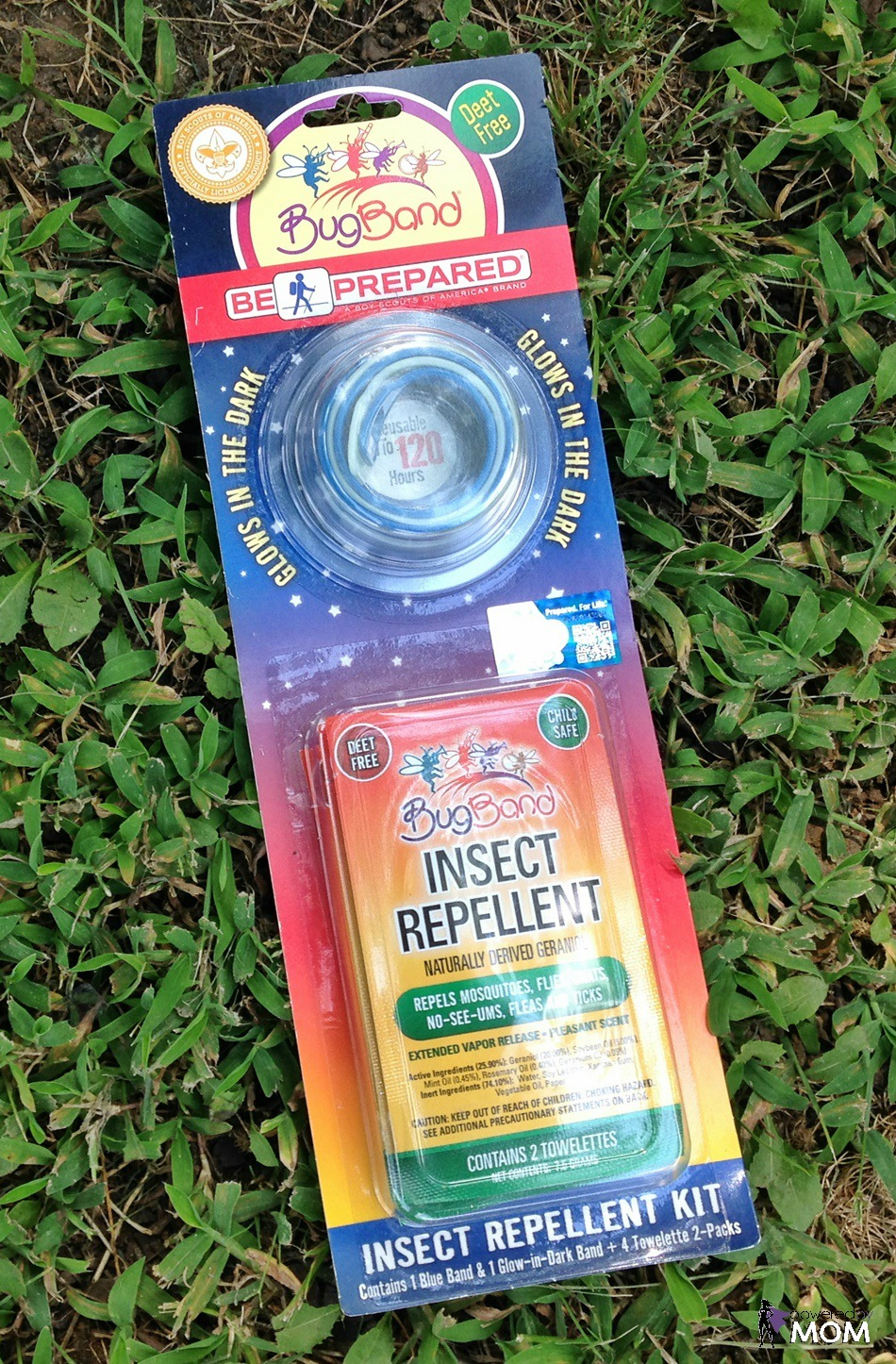 BugBand - Boy Scouts of America Be Prepared Repellent Combo Kit