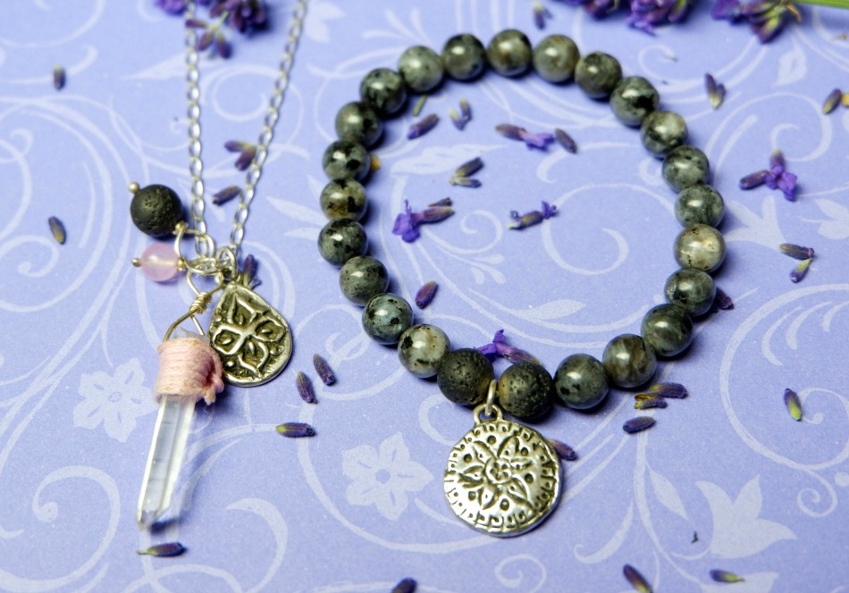 Essential Oil Diffuser Necklace and Bracelet Review Powered By Mom