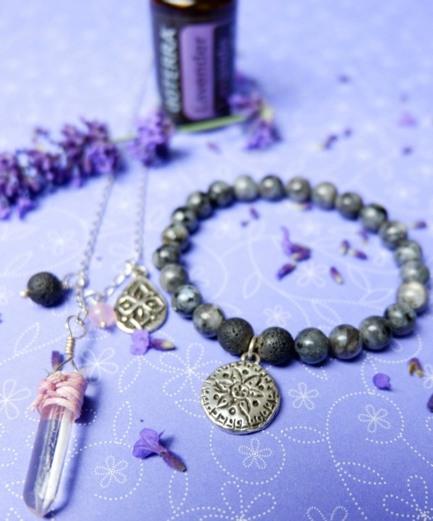 Diffuser necklace and bracelet