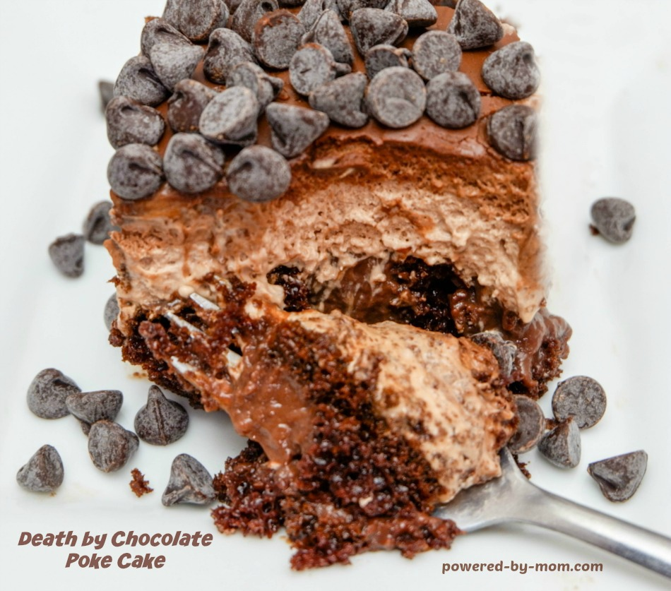 Death by Chocolate Poke Cake Recipe