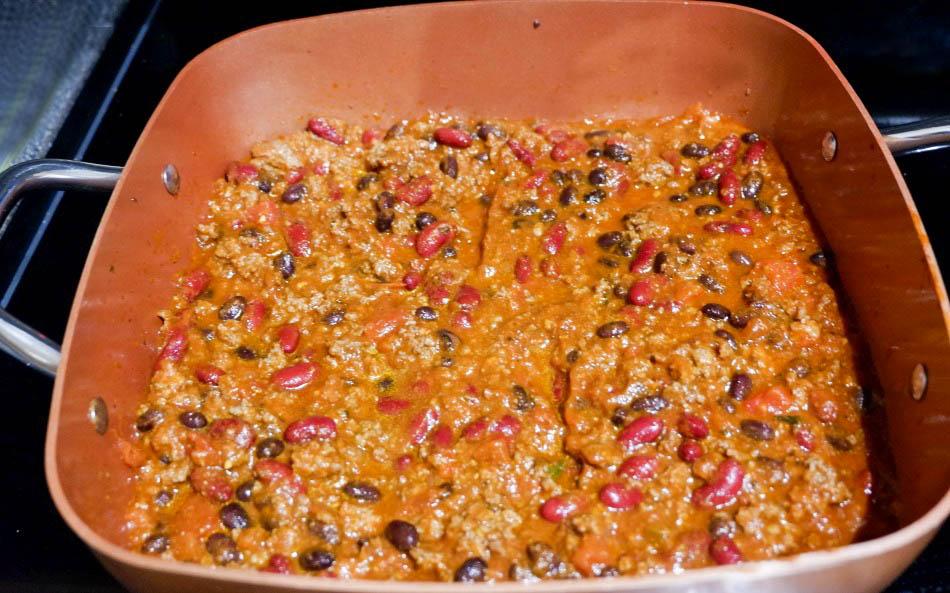 copper chef chili cooking