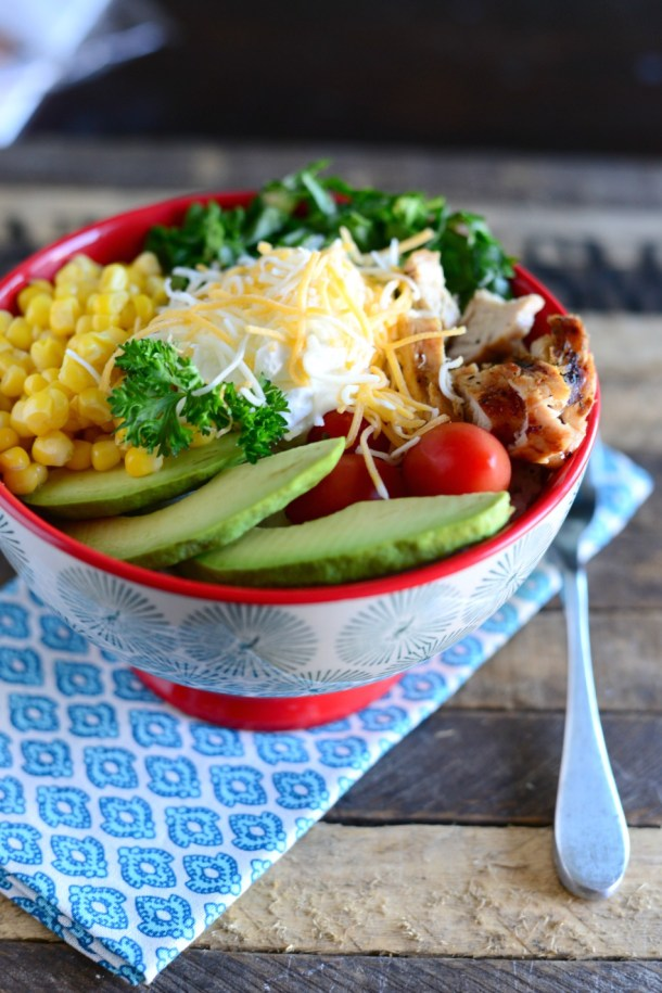Easy Grilled Chicken Bowl