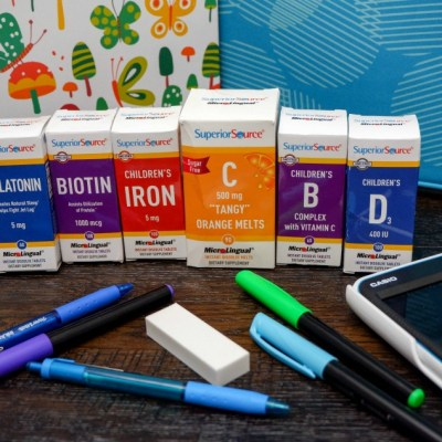 Back to School with Superior Source Vitamins