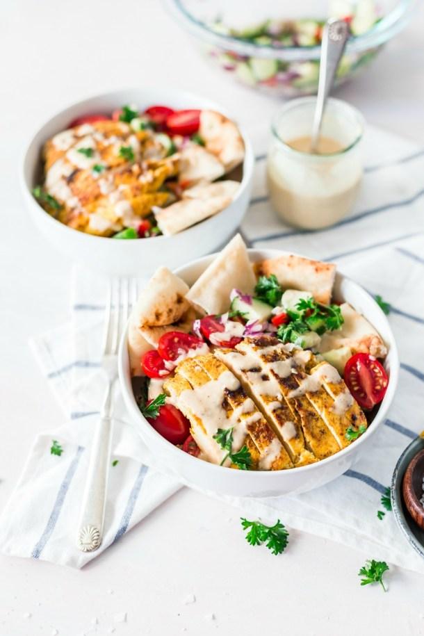 Delicious Chicken Shawarma Bowl Recipe