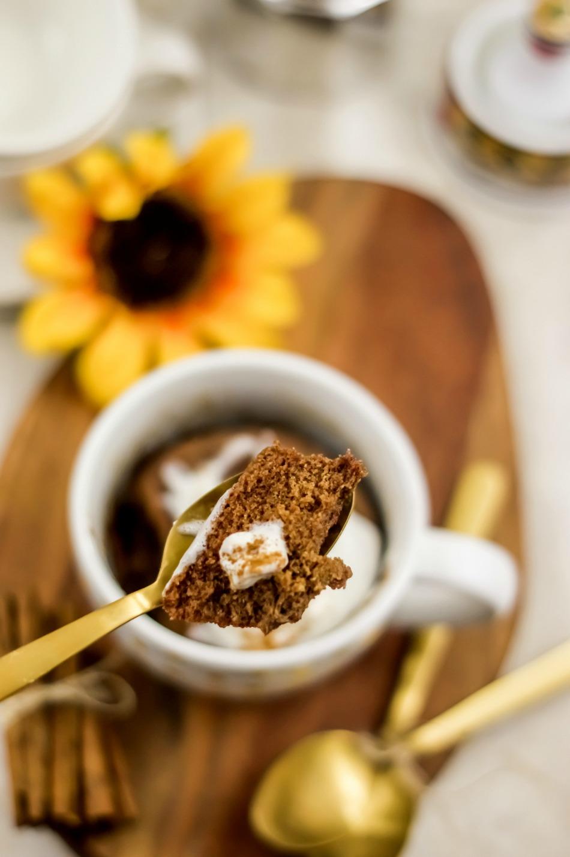 Cinnamon Mug Cake Paleo