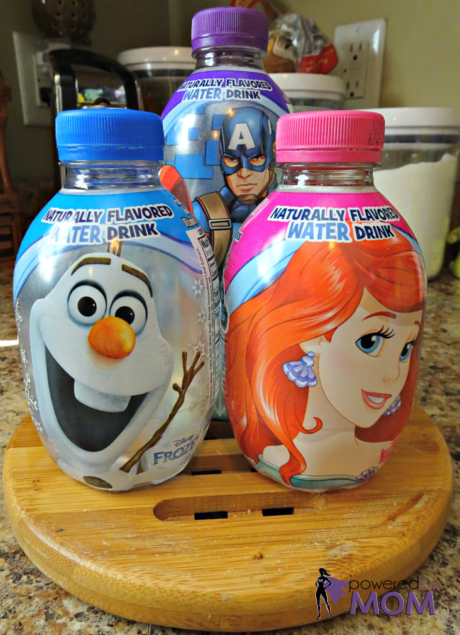 Aqua Ball Flavored Water Disney Characters