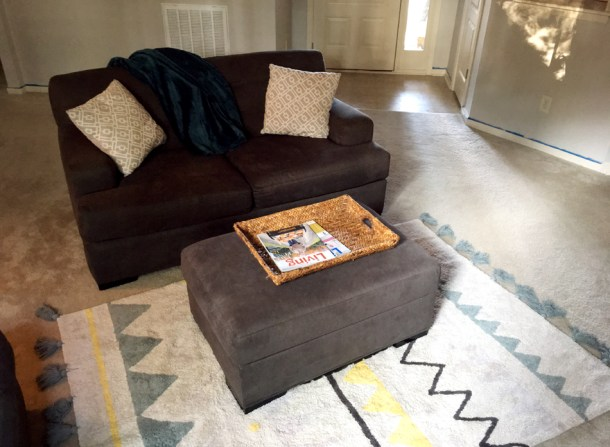 machine-washable rug