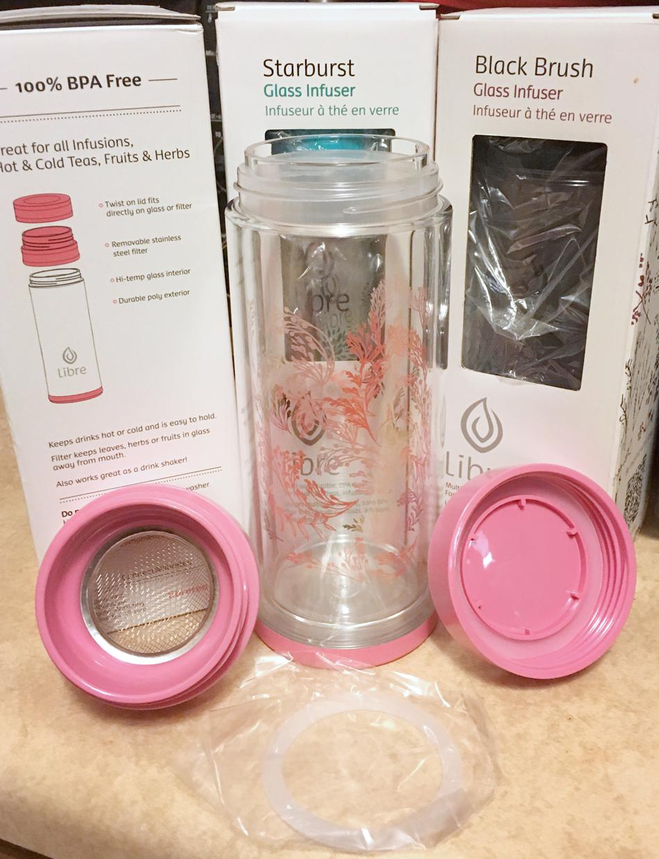 Libre Tea Infuser Glass