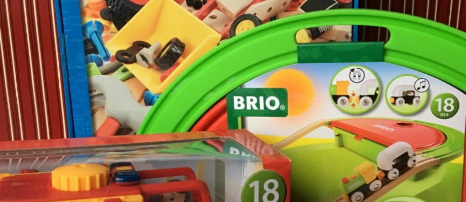 BRIO Toys Trigger More than Giggles