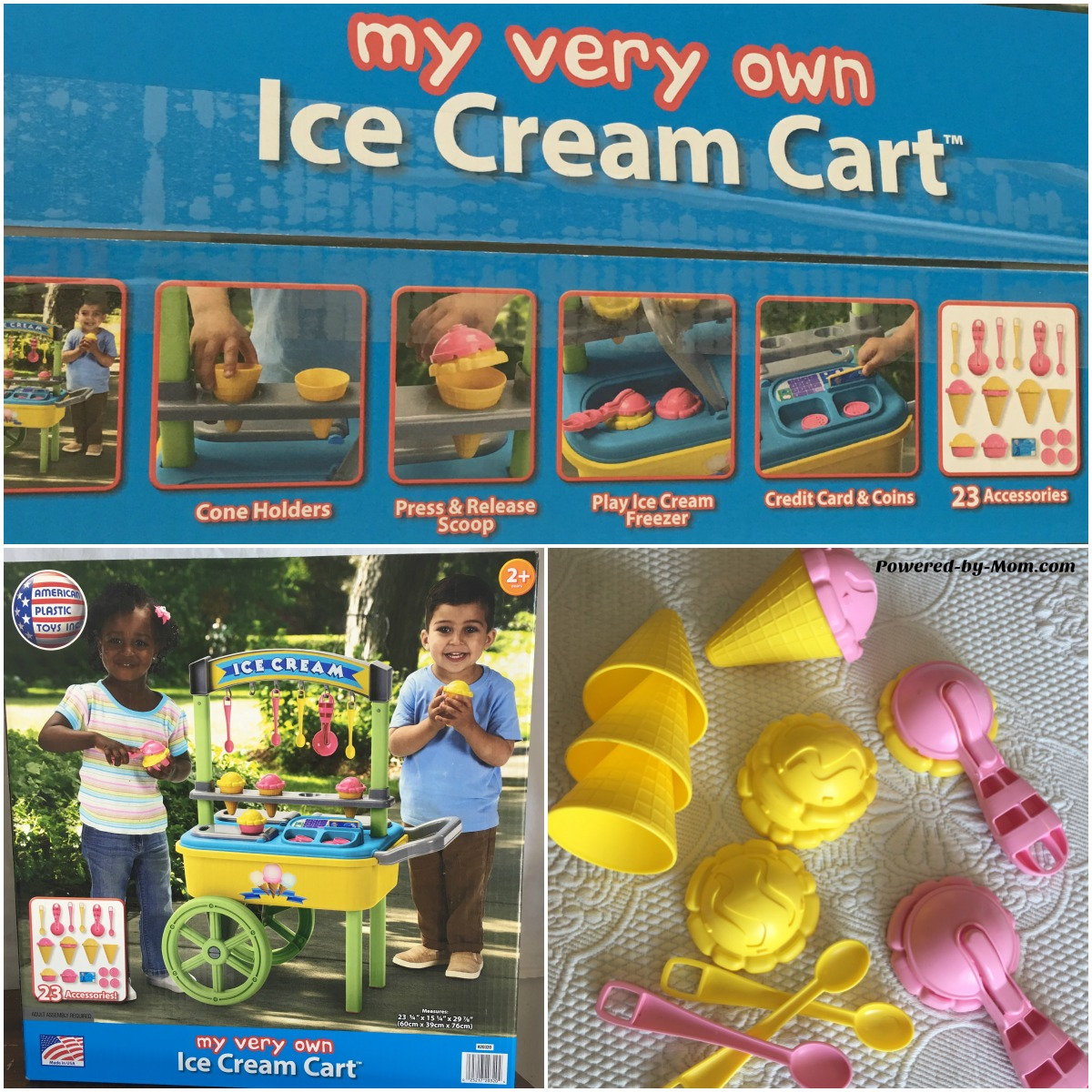 Imaginative Play with American Plastics Toy Review - Powered by Mom