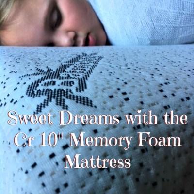 Sleep in Luxury with Cr 10 Inch Memory Foam Mattress