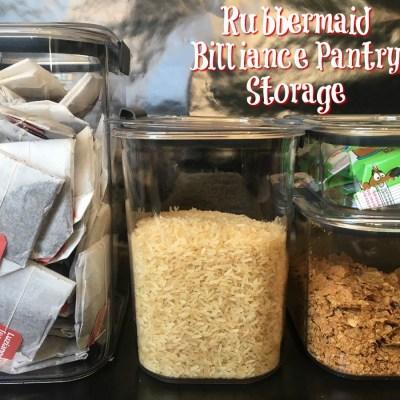 Rubbermaid Brilliance Pantry Storage