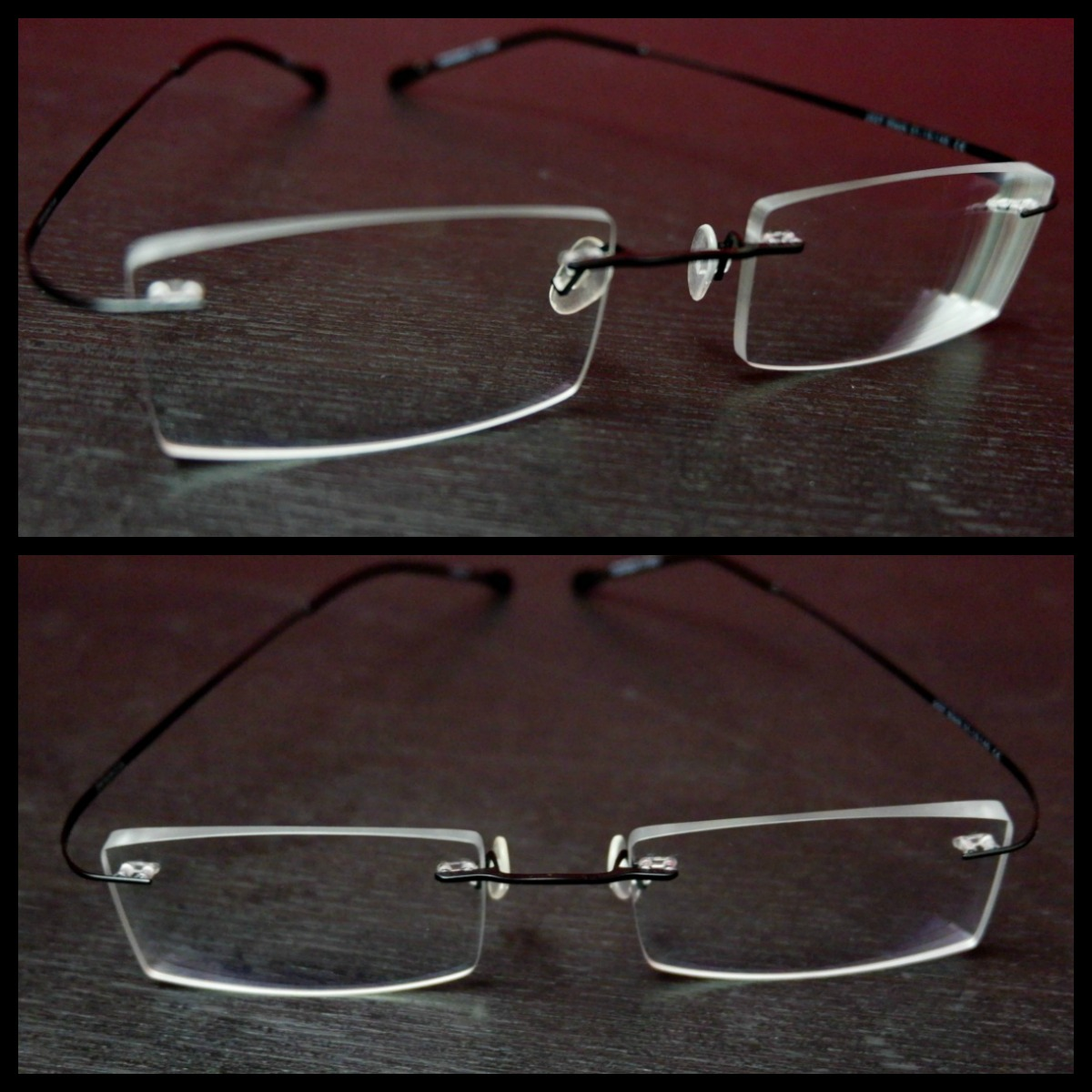 Clearly Rimless Glasses