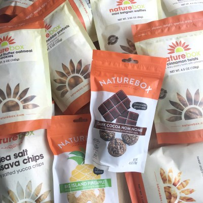 Delicious Snacks from Naturebox
