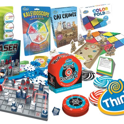 ThinkFun Logic Games for Kids