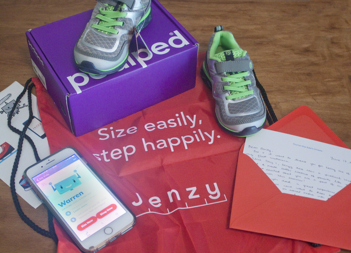 Find Your Child's Perfect Shoe Size with Jenzy