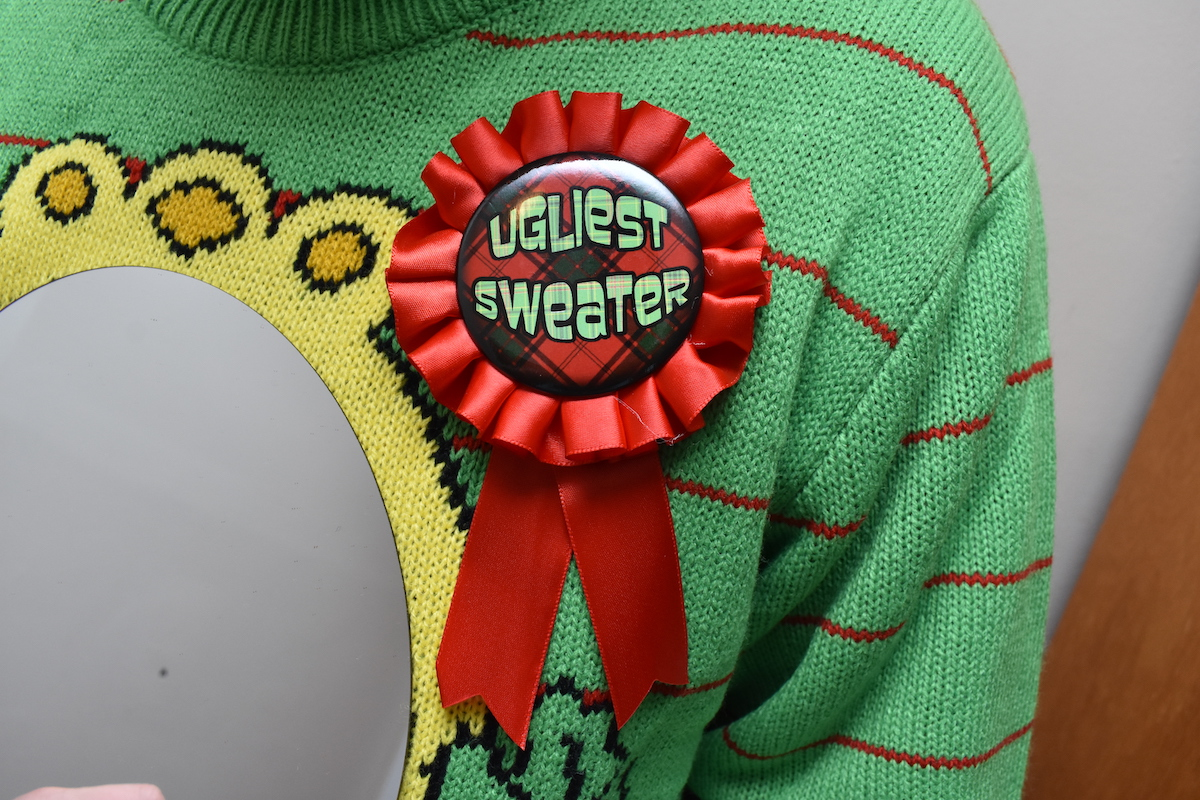 How to Throw an Ugly Christmas Sweater Party