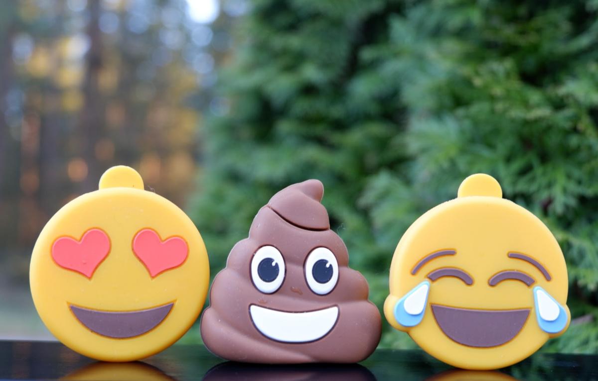 emoji flash drives