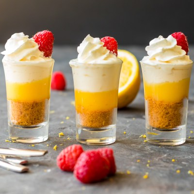 Mini No Bake Lemon Cheesecake Recipe