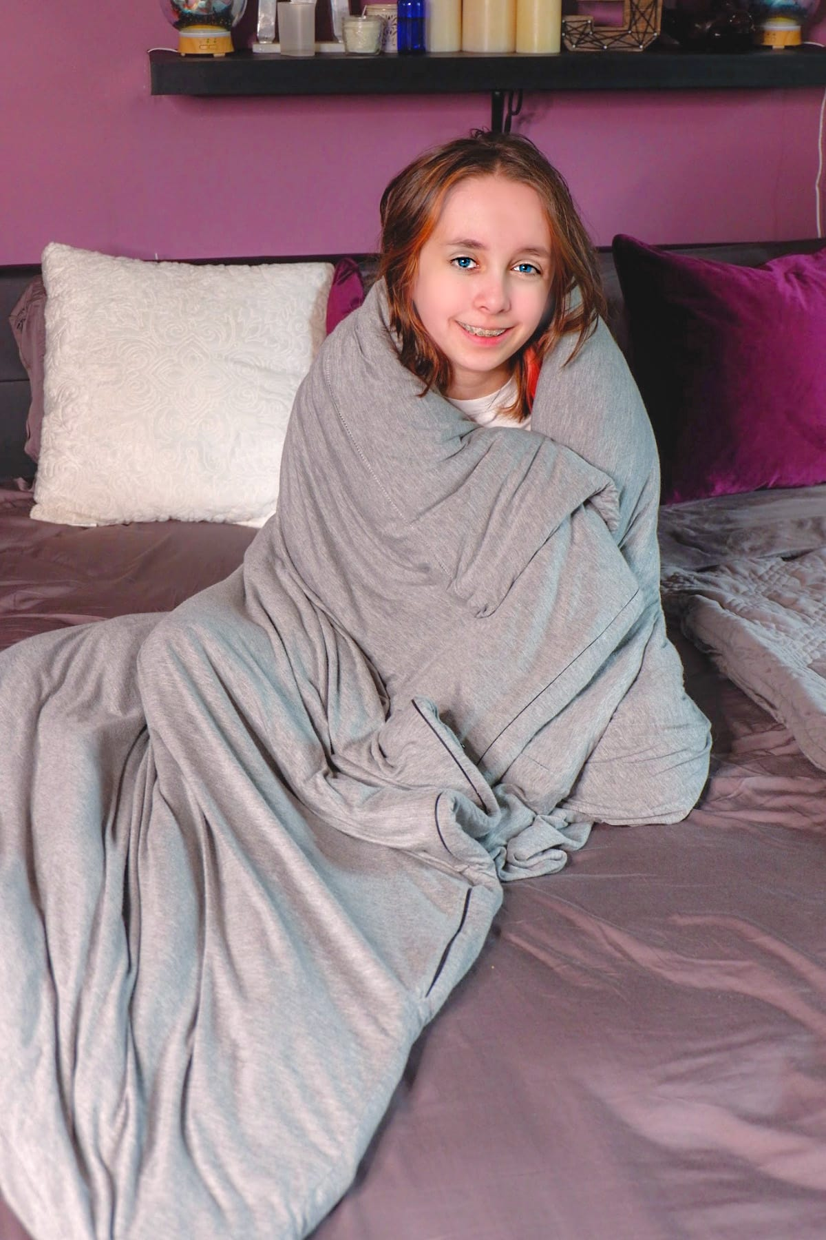 Hush Weighted anxiety blanket