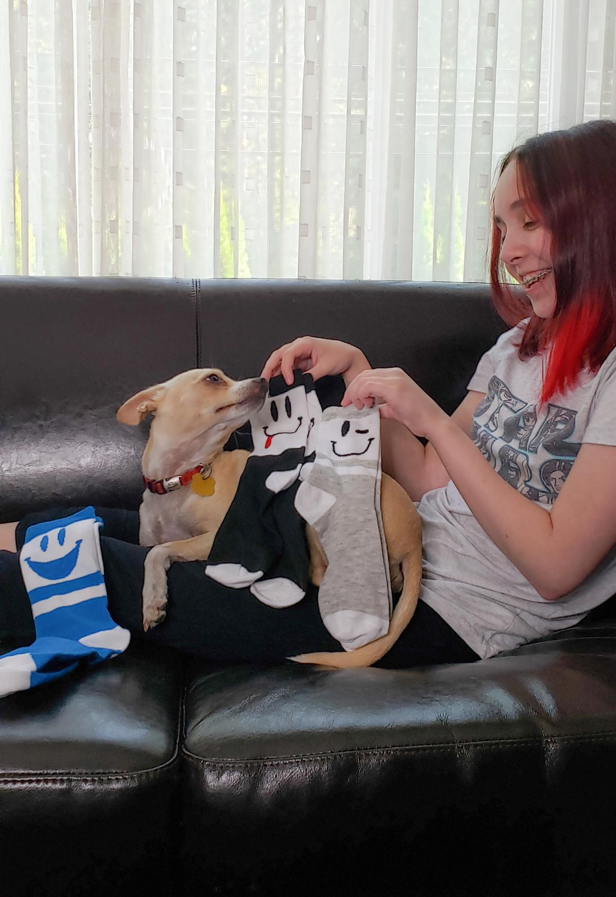 No More Boring Socks – Smile!
